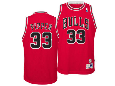 Chicago Bulls Scottie Pippen adidas NBA Youth Retired Player Swingman Jersey