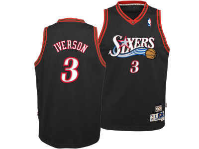 Philadelphia 76ers Allen Iverson adidas NBA Youth Retired Player Swingman Jersey