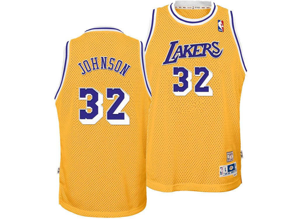 326cd2c0eb8 ... norway los angeles lakers magic johnson adidas nba youth retired player swingman  jersey 5d95b 627fb