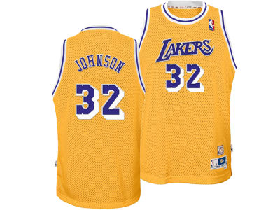 Los Angeles Lakers Magic Johnson adidas NBA Youth Retired Player Swingman Jersey