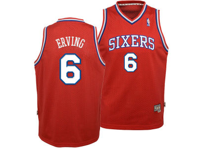 Philadelphia 76ers Julius Erving adidas NBA Youth Retired Player Swingman Jersey