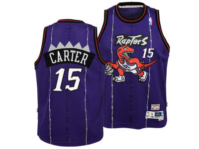 Toronto Raptors Vince Carter Outerstuff NBA Youth Soul Swingman Jersey