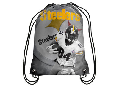 Pittsburgh Steelers Antonio Brown Player Printed Drawstring Bag