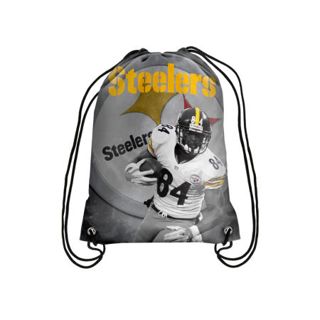 Pittsburgh Steelers Antonio Brown Player Printed Drawstring Bag