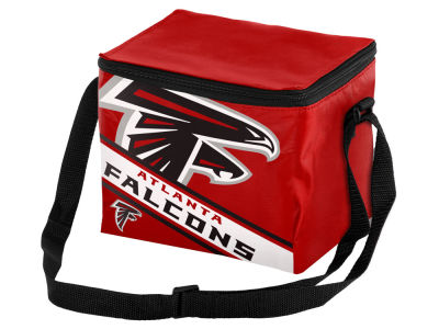 Atlanta Falcons Forever Collectibles 6-pack Big Logo Stripe Lunch Cooler