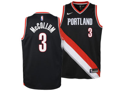 Portland Trail Blazers C. J. McCollum Nike NBA Youth Icon Swingman Jersey