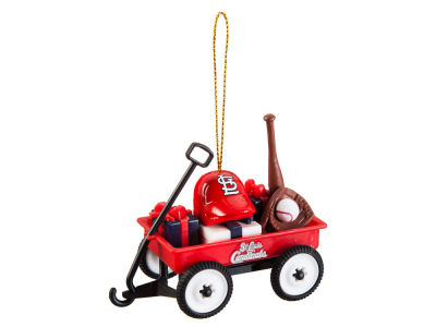 St. Louis Cardinals Team Wagon Ornament