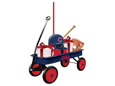 Chicago Cubs Team Wagon Ornament