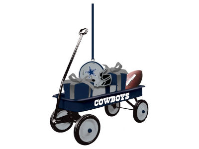 Dallas Cowboys Team Wagon Ornament