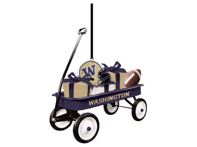 Washington Huskies Team Wagon Ornament