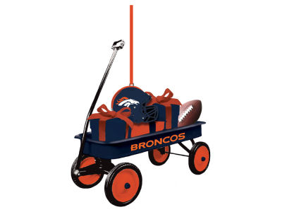 Denver Broncos Team Wagon Ornament