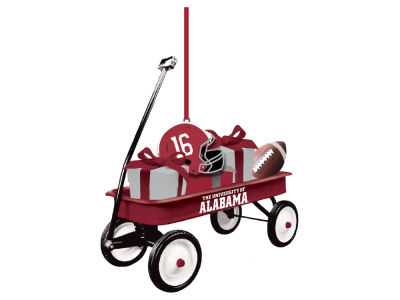 Alabama Crimson Tide Team Wagon Ornament