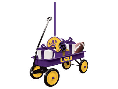 LSU Tigers Team Wagon Ornament