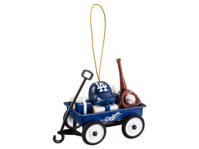 Los Angeles Dodgers Team Wagon Ornament