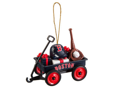 Boston Red Sox Team Wagon Ornament