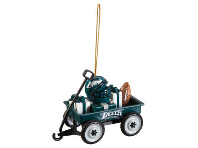 Philadelphia Eagles Team Wagon Ornament