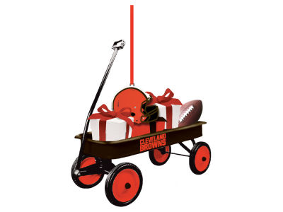 Cleveland Browns Team Wagon Ornament