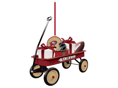 San Francisco 49ers Team Wagon Ornament