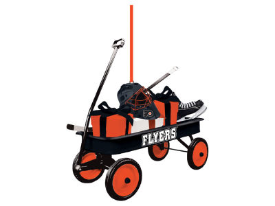 Philadelphia Flyers Team Wagon Ornament