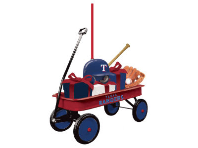 Texas Rangers Team Wagon Ornament