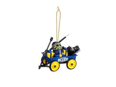 St. Louis Blues Team Wagon Ornament