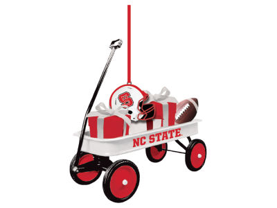 North Carolina State Wolfpack Team Wagon Ornament