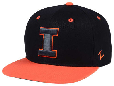 Illinois Fighting Illini Zephyr NCAA Phantom Snapback Cap