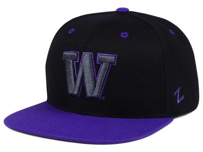Washington Huskies Zephyr NCAA Phantom Snapback Cap