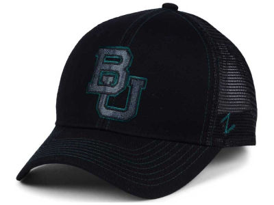 Baylor Bears Zephyr NCAA Staple Trucker Blackout Cap