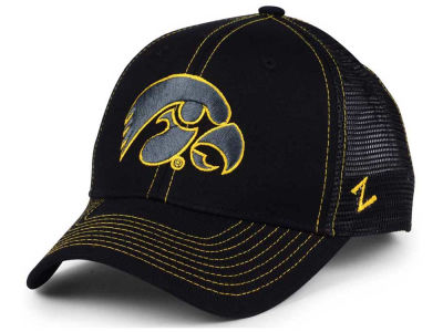 Iowa Hawkeyes Zephyr NCAA Staple Trucker Blackout Cap