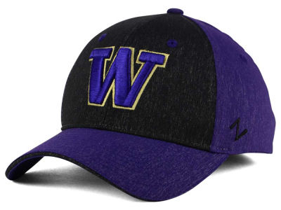 Washington Huskies Zephyr NCAA Challenger Stretch Cap