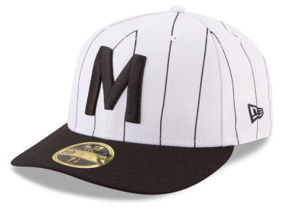 Milwaukee Brewers New Era MLB Low Profile Turn Back The Clock 59FIFTY Cap