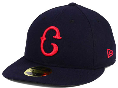 Cleveland Indians New Era MLB Low Profile Turn Back The Clock 59FIFTY Cap