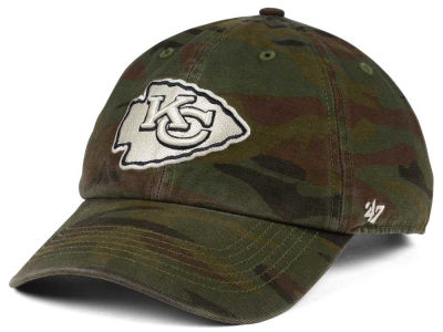 Kansas City Chiefs '47 NFL Regiment CLEAN UP Cap