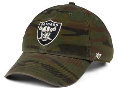 Oakland Raiders '47 NFL Regiment CLEAN UP Cap