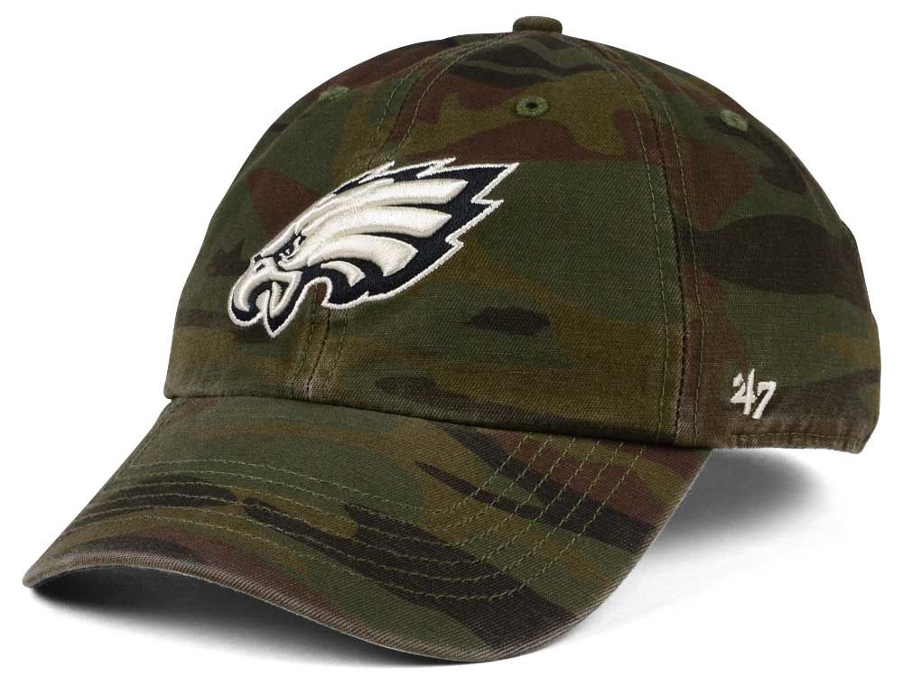 Philadelphia Eagles  47 NFL Regiment CLEAN UP Cap  8ef4871aa