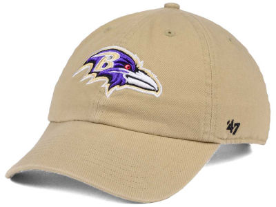 Baltimore Ravens '47 NFL Khaki '47 CLEAN UP Cap