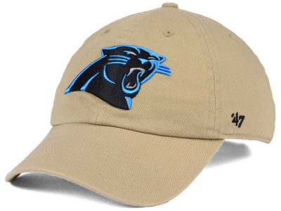 Carolina Panthers '47 NFL Khaki '47 CLEAN UP Cap