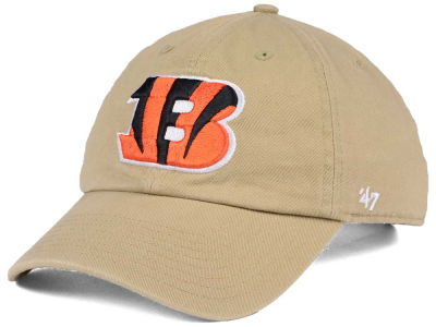 Cincinnati Bengals '47 NFL Khaki '47 CLEAN UP Cap