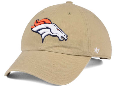 Denver Broncos '47 NFL Khaki '47 CLEAN UP Cap