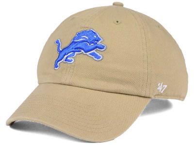 Detroit Lions '47 NFL Khaki '47 CLEAN UP Cap