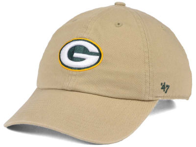 Green Bay Packers '47 NFL Khaki '47 CLEAN UP Cap