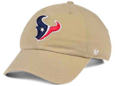 Houston Texans '47 NFL Khaki '47 CLEAN UP Cap