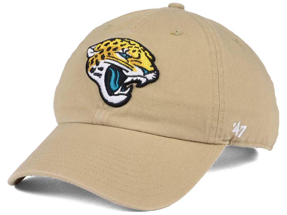 online store 5f372 96e75 ... coupon for jacksonville jaguars 47 nfl khaki 47 clean up cap 1b4a9 89689