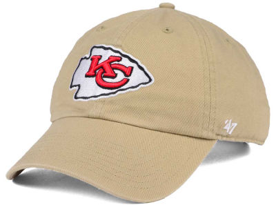 Kansas City Chiefs '47 NFL Khaki '47 CLEAN UP Cap