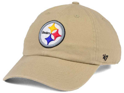 Pittsburgh Steelers '47 NFL Khaki '47 CLEAN UP Cap