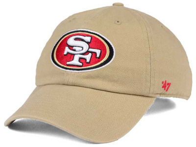 San Francisco 49ers '47 NFL Khaki '47 CLEAN UP Cap