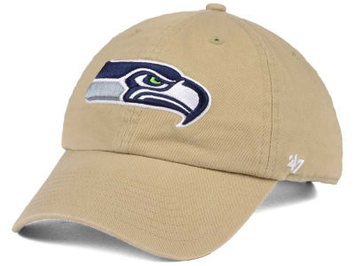 Seattle Seahawks '47 NFL Khaki '47 CLEAN UP Cap
