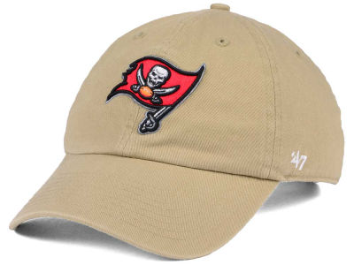 Tampa Bay Buccaneers  47 NFL Khaki  47 CLEAN UP Cap 0ded8dfeb97