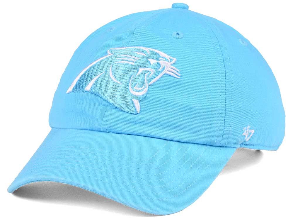 Carolina Panthers  47 NFL Women s Pastel CLEAN UP Cap  5262157cb